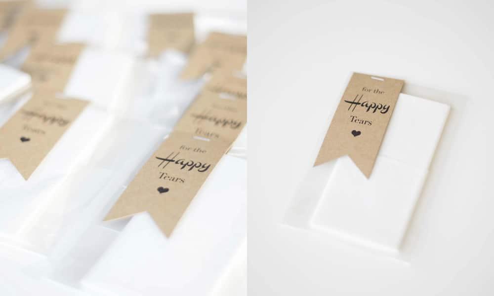 fazzoletti di carta personalizzati
