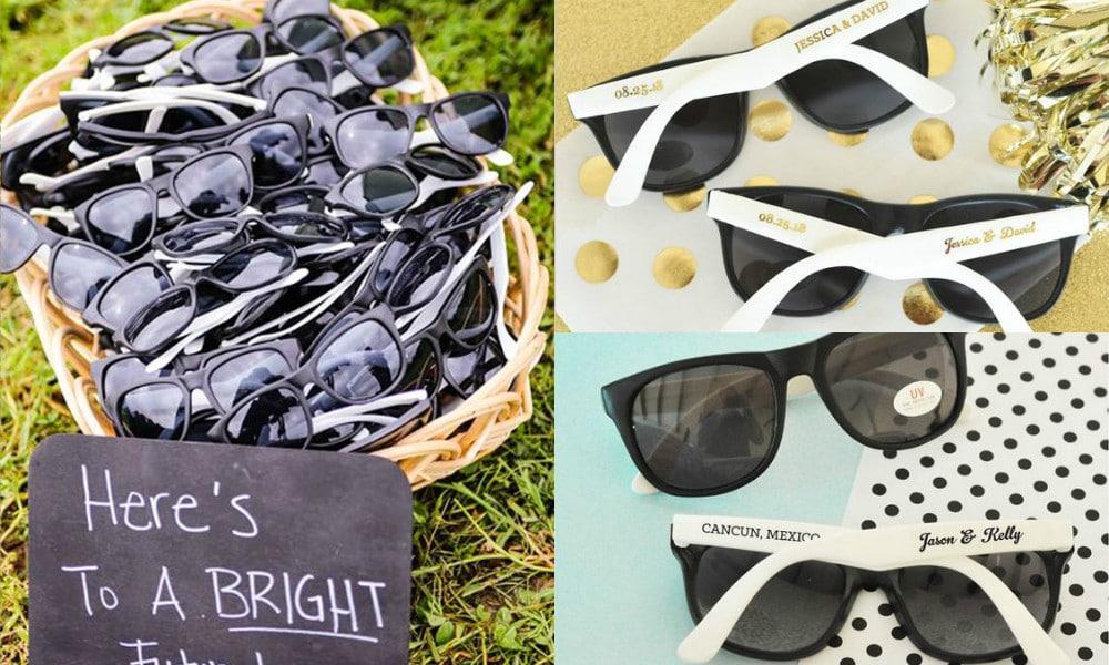 occhiali da sole per matrimonio