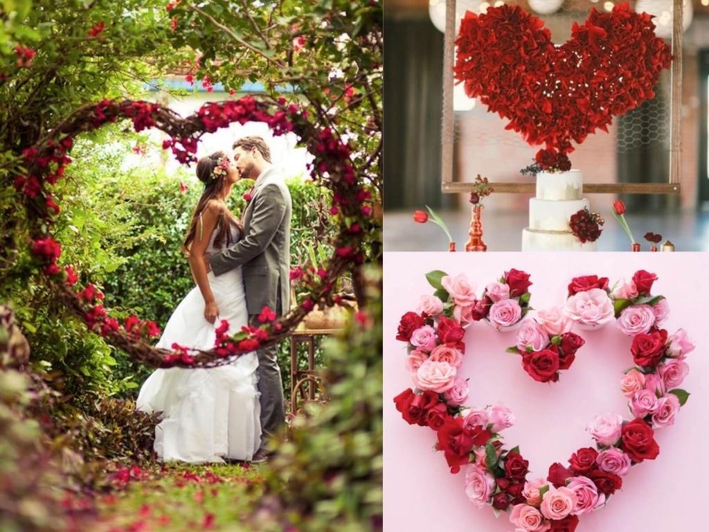 Matrimonio Tema Cuore : Idee per un matrimonio a san valentino
