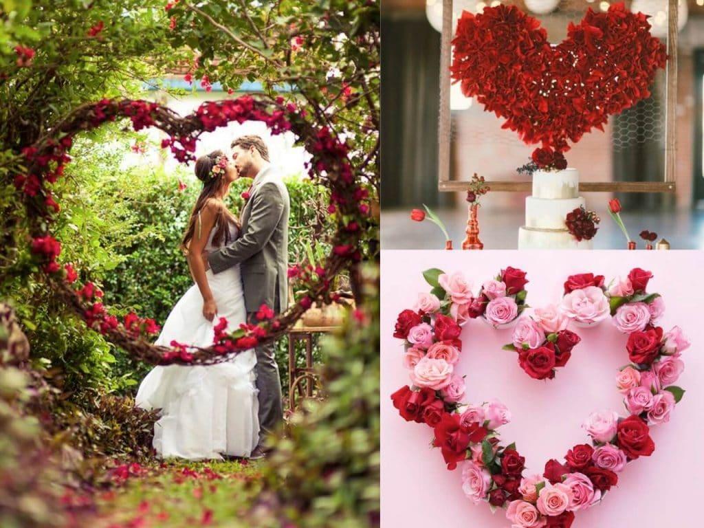 Matrimonio Tema Cuore : Idee fiori matrimonio wy pineglen