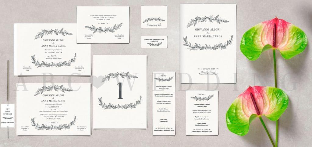Inviti Matrimonio Simbolico : Inviti matrimonio